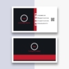 Corporate Business Card Design Free AI Template