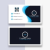 Download Double Sided Card Free AI Template