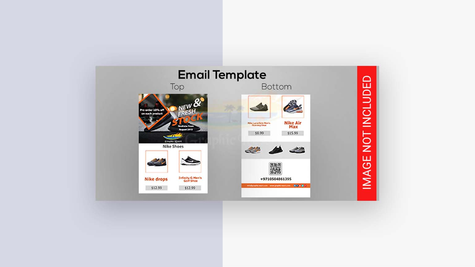 shoes email template