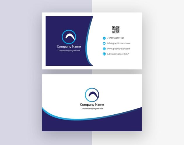 Visiting Card design Ai File From Vectorpie Preview