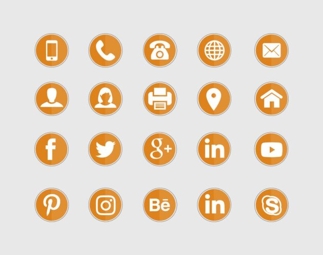 Contact Icons preview