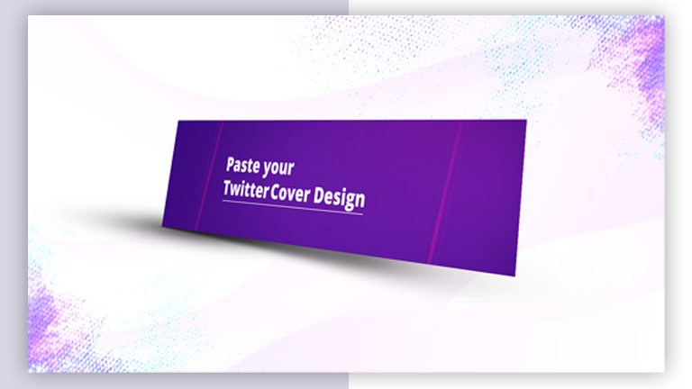 Twitter Cover Mockup Design From Vector Pie 2 3