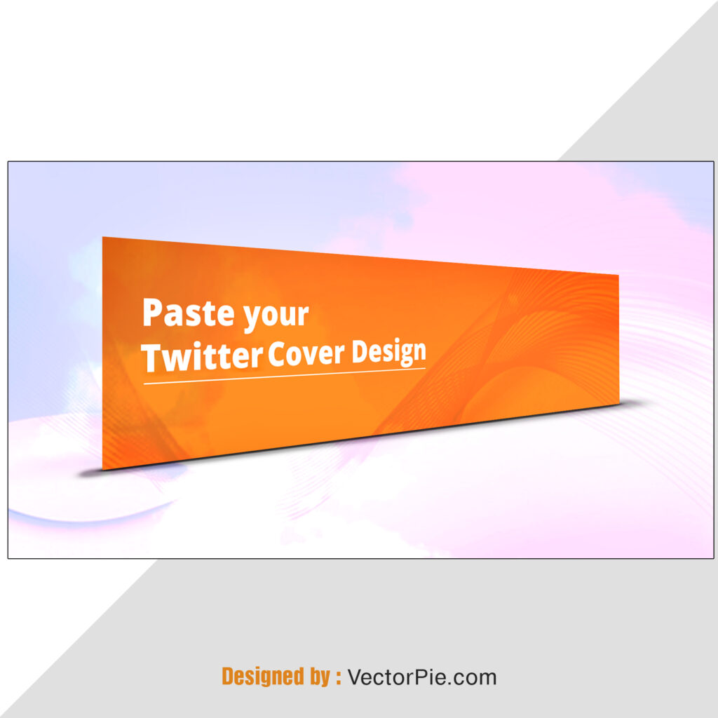 Twitter Cover Mockup Design From Vector Pie 3 2
