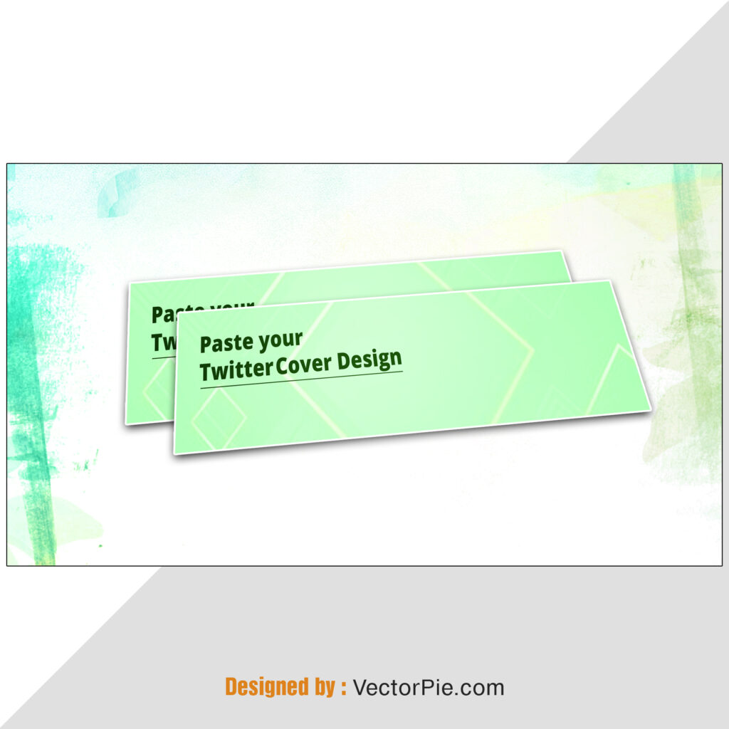 Twitter Cover Mockup Design From Vector Pie 4 2