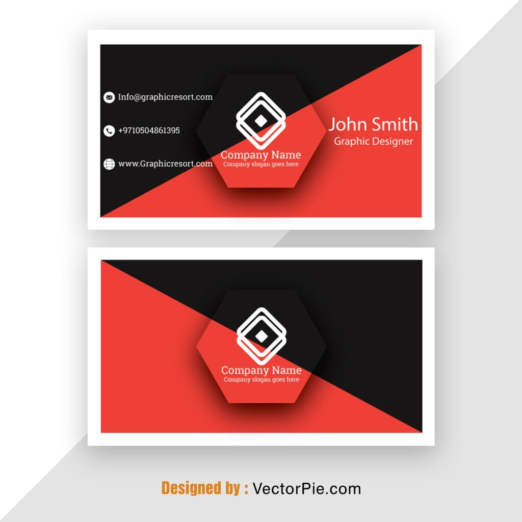 Visiting Card Mockup From Vectorpie 1