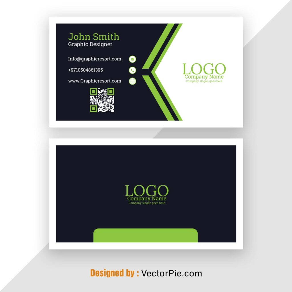 Visiting Card Mockup From Vectorpie.com 1