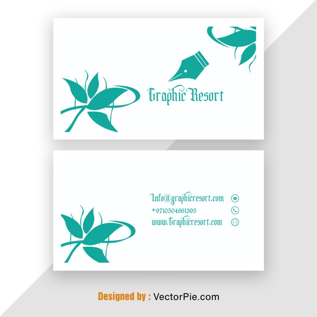 Visiting Card Mockup From vectorpie 3