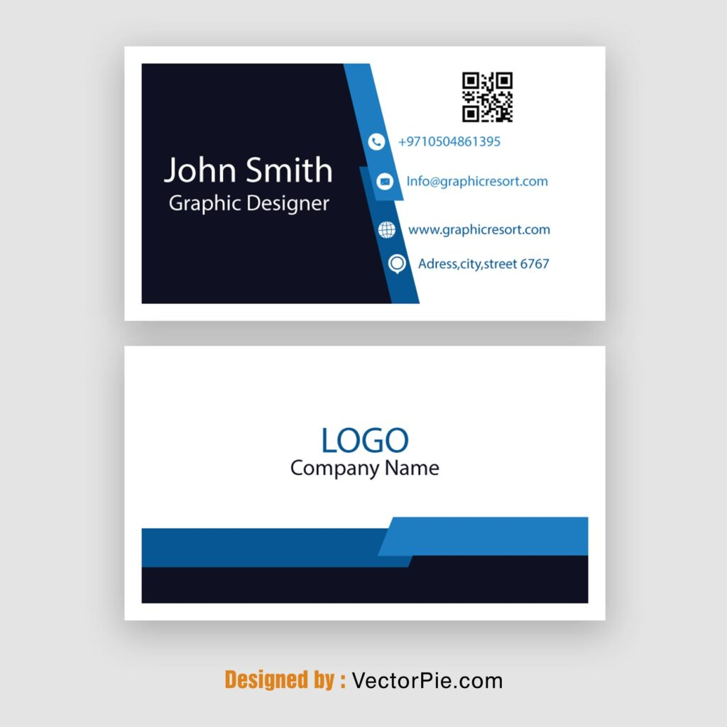 Visiting Card design Ai File From VectorPie 1