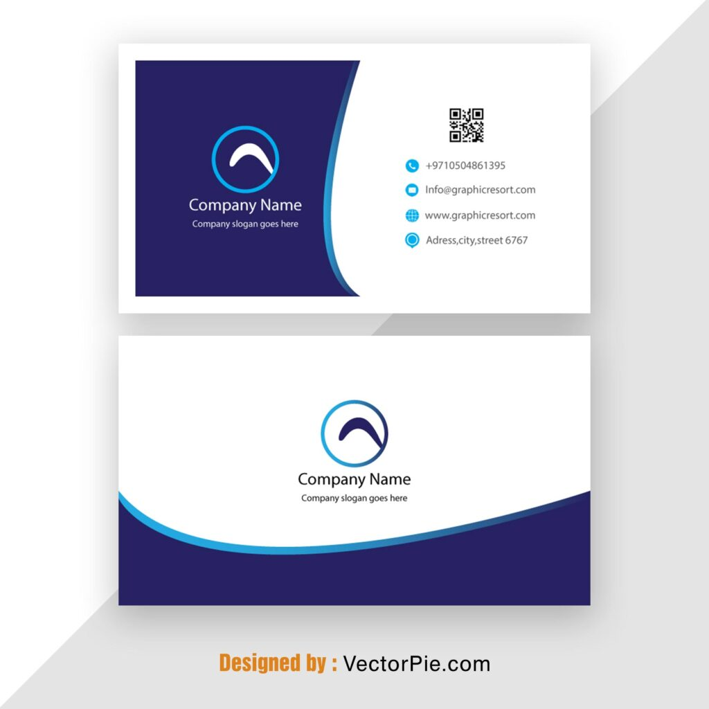 Visiting Card design Ai File From Vectorpie 11