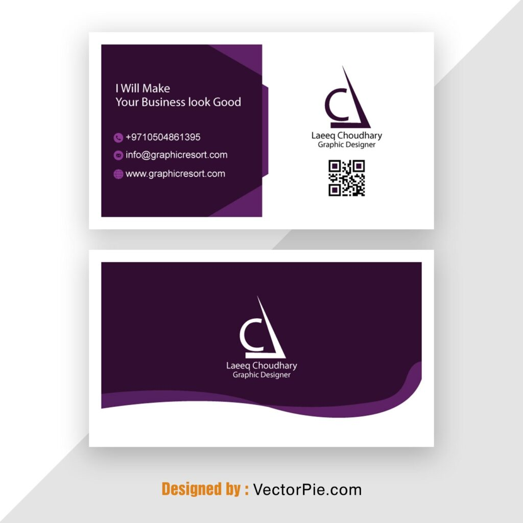 Visiting Card design Ai File From Vectorpie 19