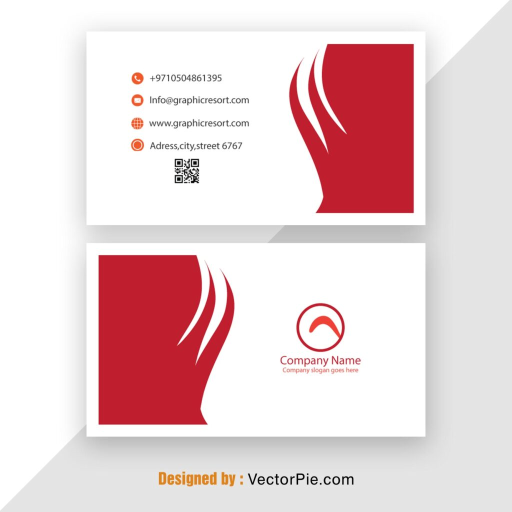 Visiting Card design Ai File From Vectorpie 7