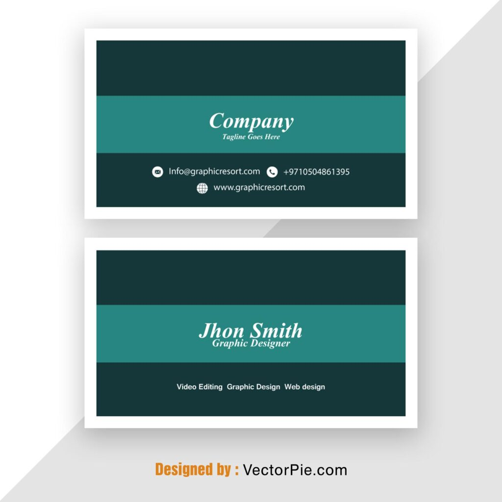 Visiting Card design Ai File From Vectorpie Vol 14 1