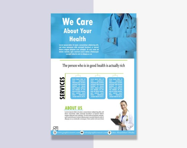 Medical Flyer design From Vectorpie Vol7 Preview 2