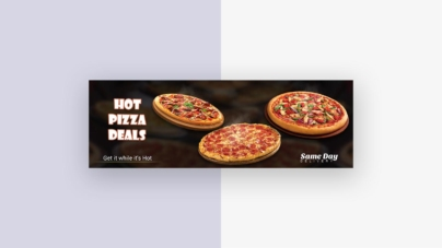 Web Slider Design From Vector Pie vol 11 preview 2