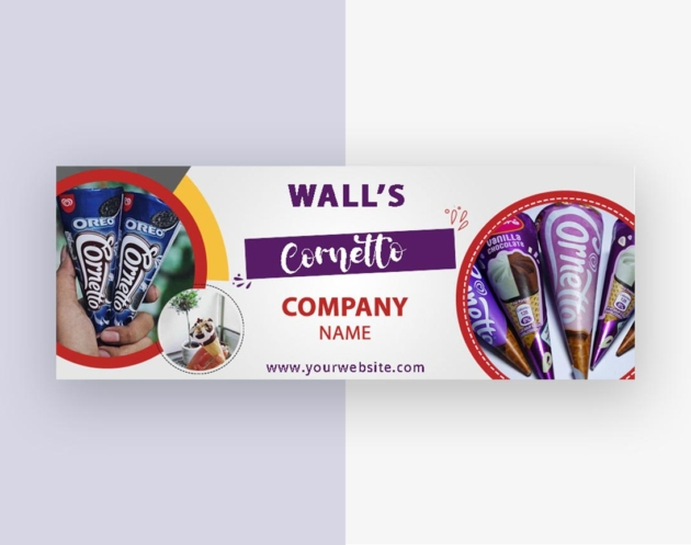 facebook Cover banner design from VectorPie 3